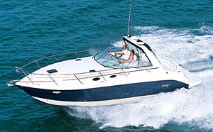 Rinker Fiesta Vee 342: Sea Trial