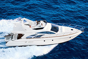 Azimut 50: Sea Trial