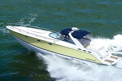 Donzi 41 ZSC: Sea Trial