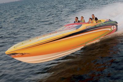 Powerboat Performance Report: Cigarette 39 Top Gun Unlimited