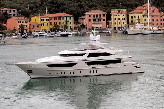 The Yacht Insider: An all-new Steel Flagship from Sanlorenzo