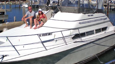 Carver 380 Santego: Used Boat Review