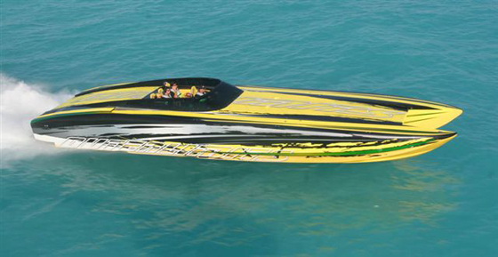 Inside Outerlimits Offshore Powerboats