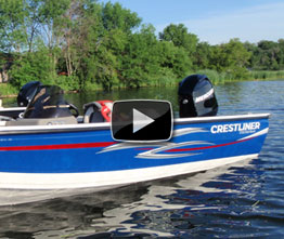 Crestliner 1750 Fish Hawk: Video Boat Review