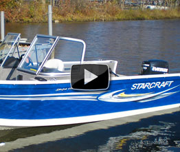 Starcraft Starfish 176: Video Boat Review