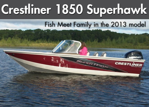 2013 Crestliner 1850 Super Hawk: Video Boat Review