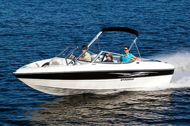 Stingray 195 LX Fish and Ski Package