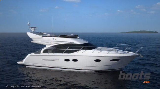 2014 Princess 43: First Look Video