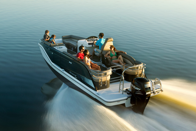Bayliner Element XR7: Deck Boat, Pontoon Boat, Runabout