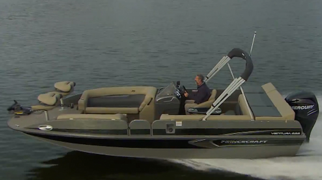 Princecraft Ventura 222: Video Boat Review