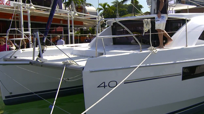 Leopard 40 Sailing Catamaran Video: First Look
