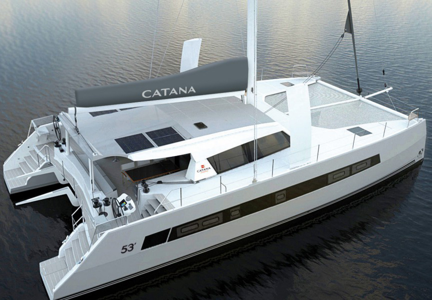 Catana 53: A New Sailing Catamaran is Coming
