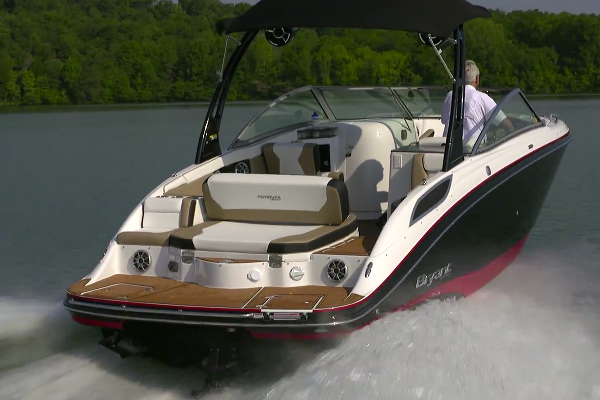 Bryant Potenza Video Boat Review