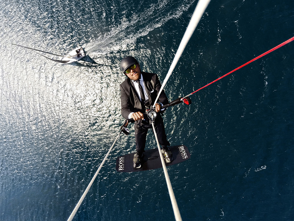 Alex Thomson's Skywalk