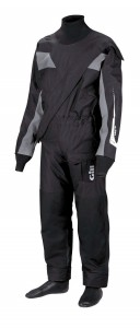 A regular leisure drysuit with front zip from Gill - winter clothing