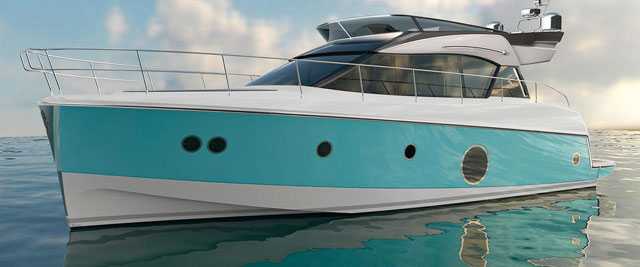 New flybridge line from Beneteau