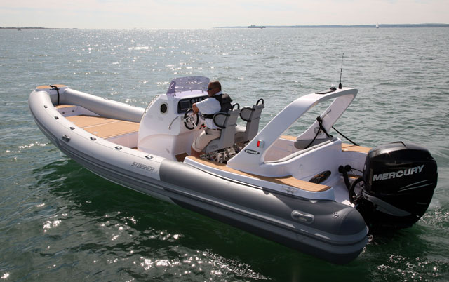 RIB buying guide: A big 8m 300hp performance RIB from Stingher