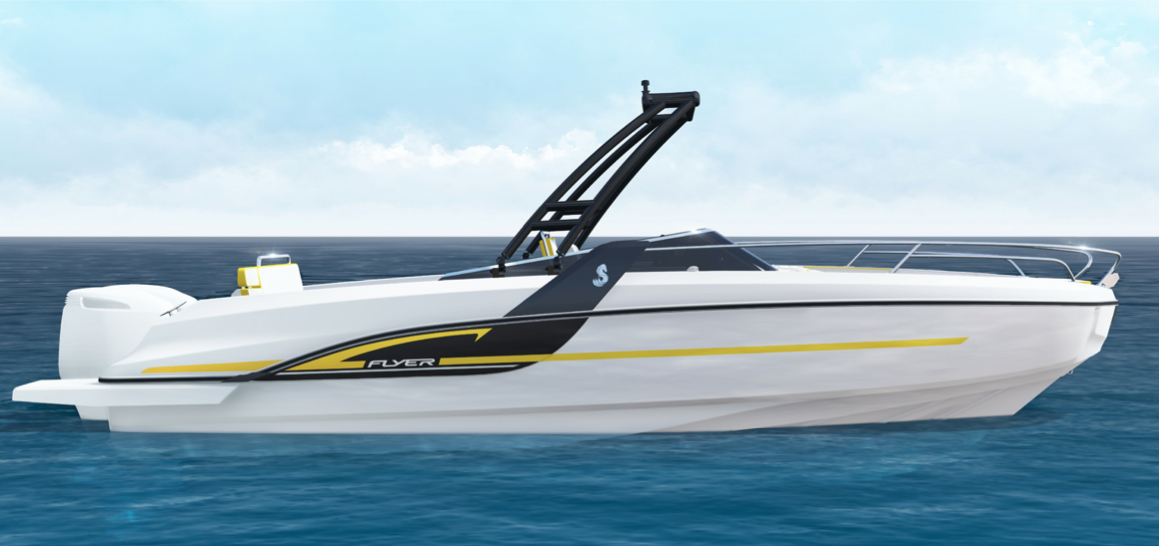 Beneteau Flyer 7: the new flagship is launched