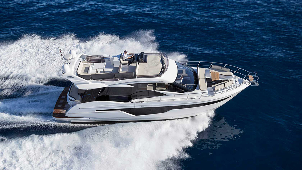Flybridges: Galeon 500 Fly