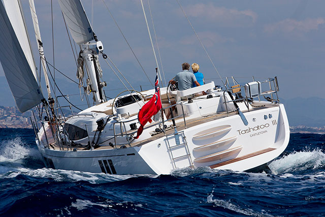 Gunfleet 58: luxurious blue water cruiser