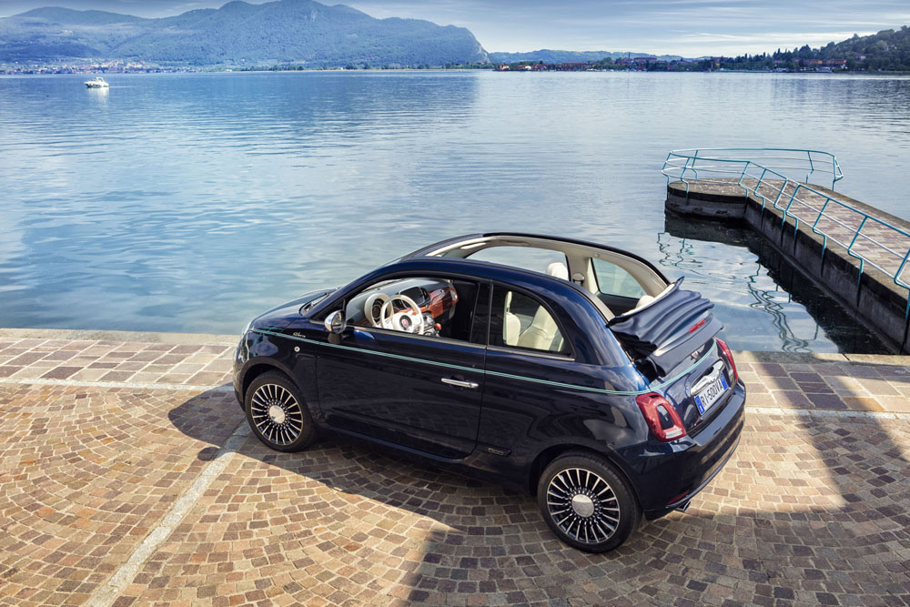 Riva designs range of Fiat 500s