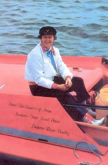 Great powerboating ladies: Lady Arran