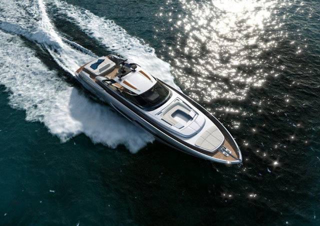 Riva 88 Miami: Luxury power convertible