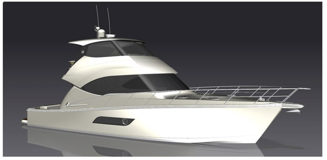 Riviera reveals new Flybridge 50