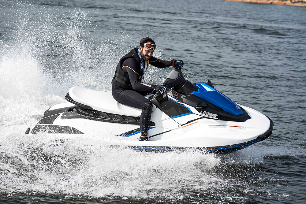Yamaha's new personal watercraft models
