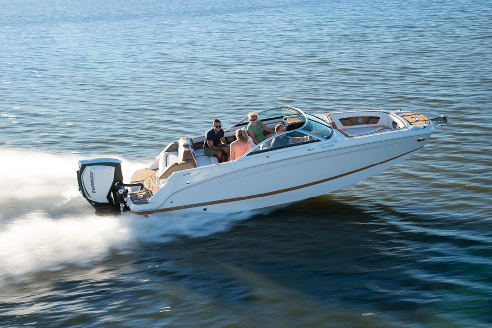 Deck Boats: Four Winns 220