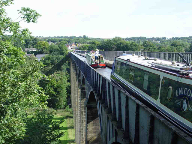 The Pontcysyllte aqueduct - narrowboat holiday guide