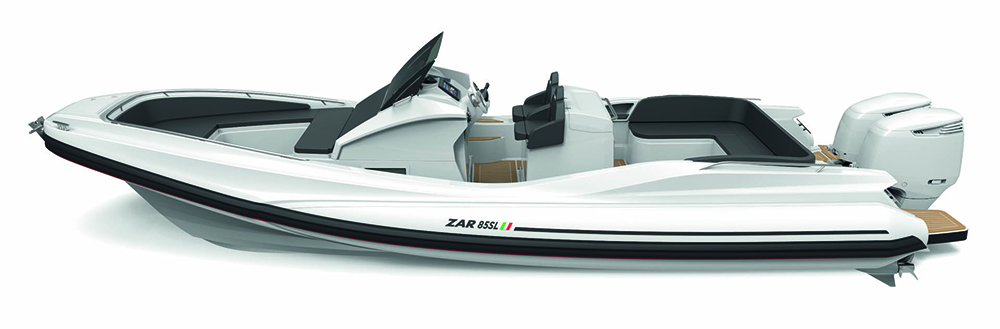 Zar 85 SL review: hull