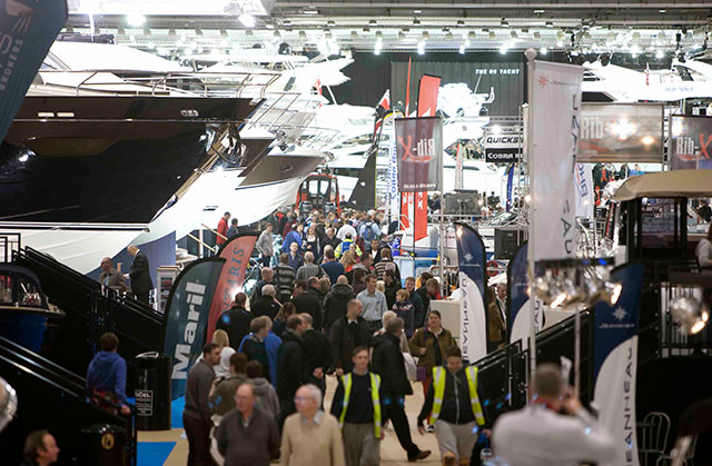 London Boat Show 2014: packed with boats