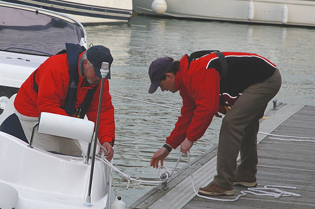 power boating knots: there are just a few important ones