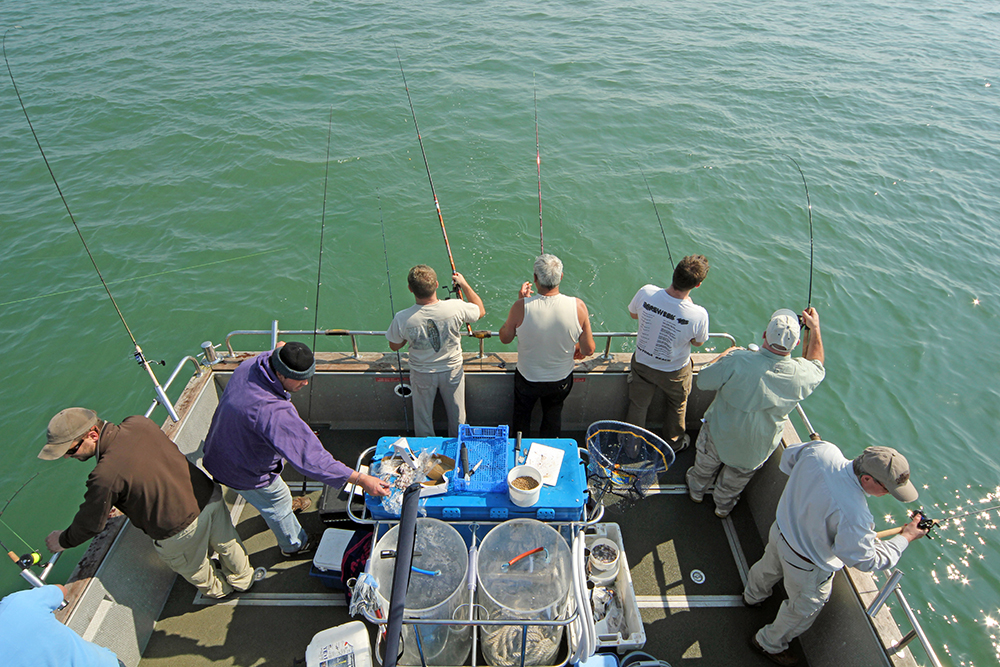 Fishing at anchor – Guide to boat fishing in the UK
