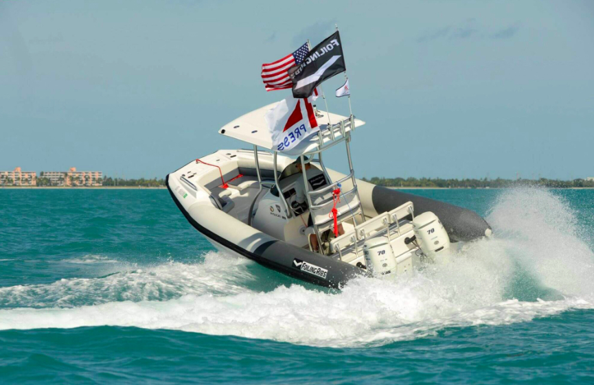 The 23 is the latest RIB from twin-hulled hydrofoil specialist, Hysucat