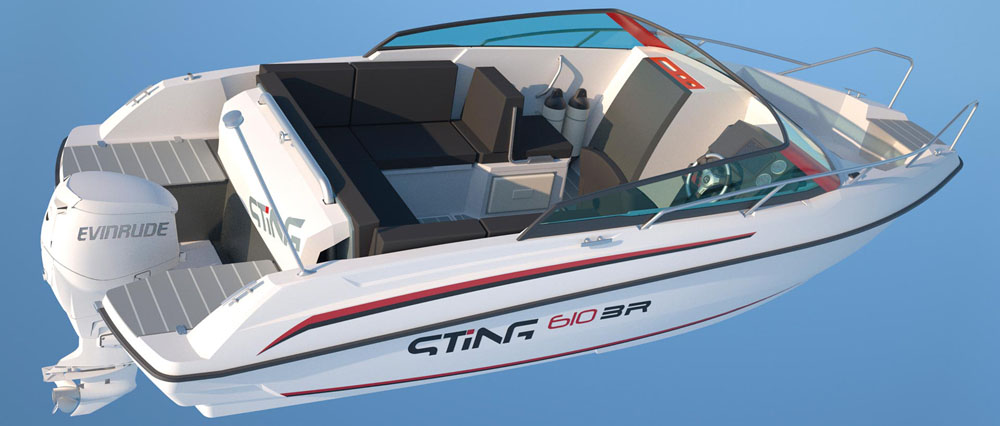 Sting 610: bargain powerboats