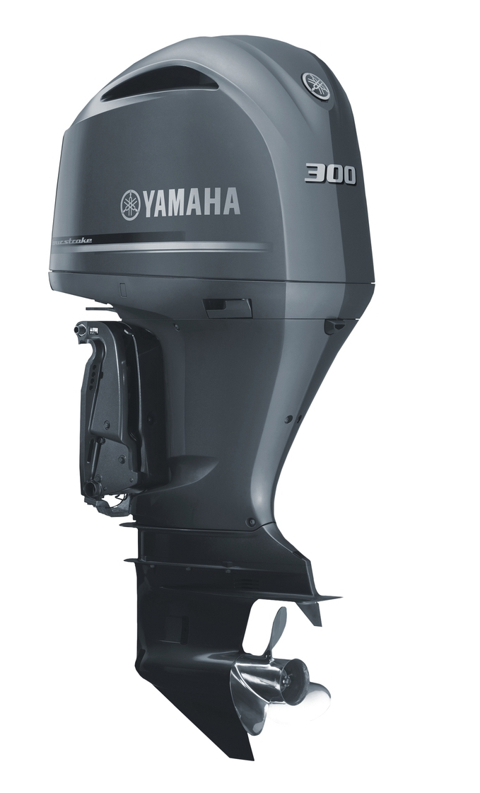 Outboard engines: Yamaha F300B.