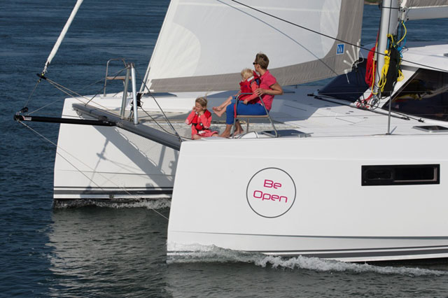 Nautitech Open 40 review: spacious sailing