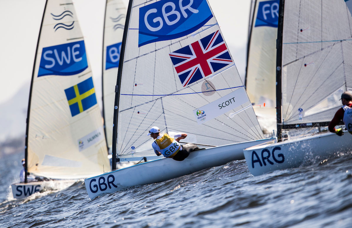 Giles Scott 2016 Rio Olympic Games: Sailing: Photo Sailing Energy/World Sailing.