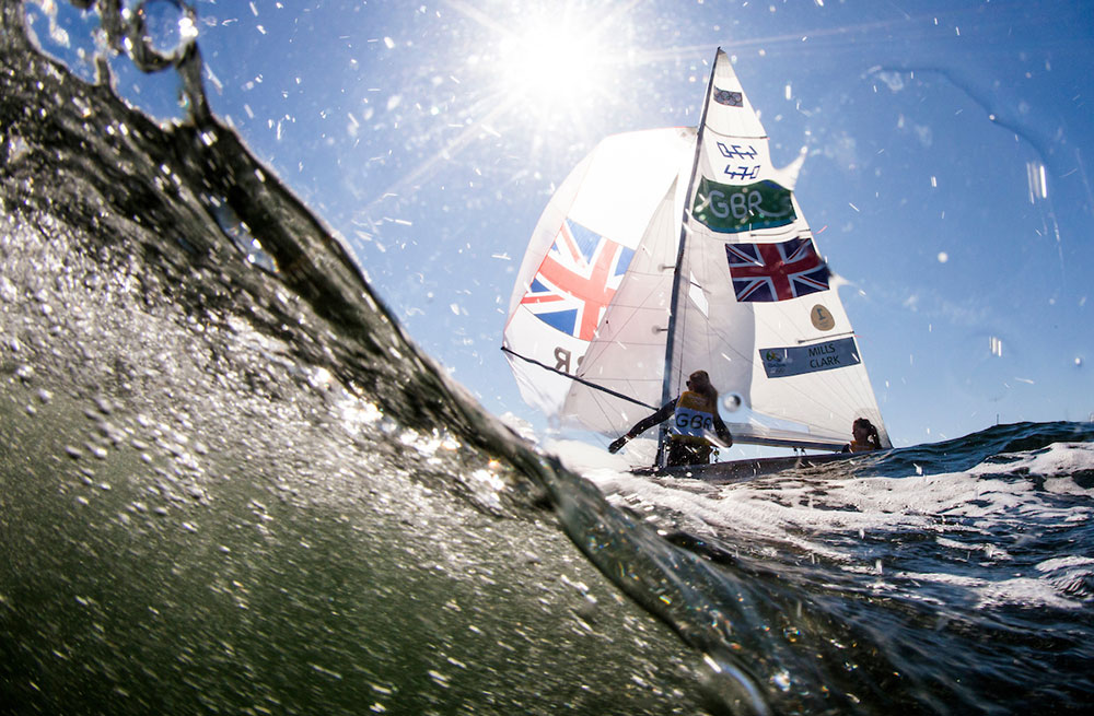 2016 Rio Olympic Games: Sailing: Photo Sailing Energy/World Sailing.