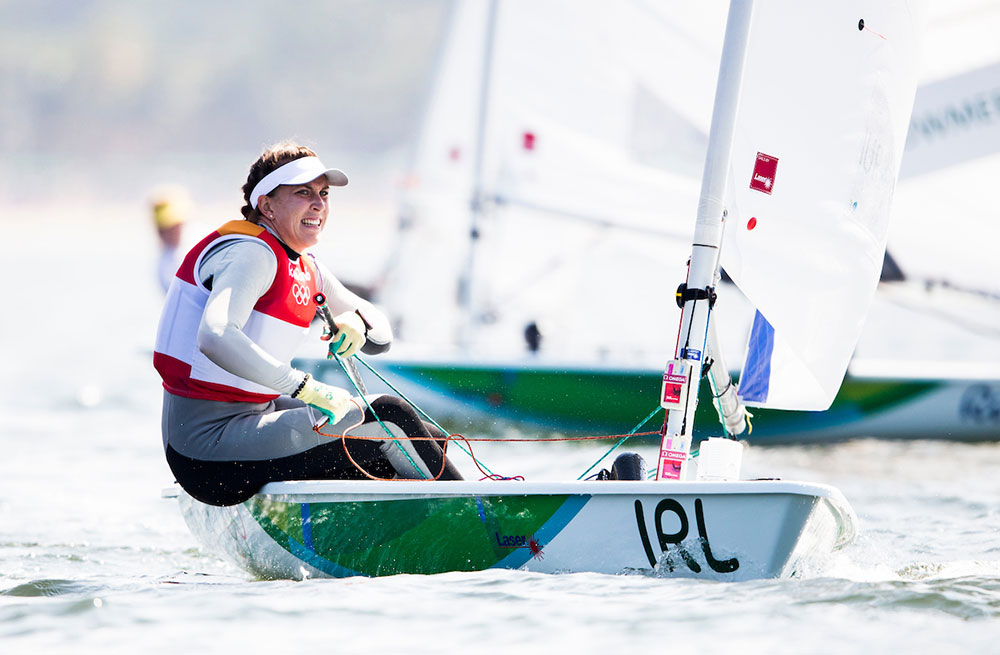 Annalise Murphy delivered Ireland's first Olympic Sailing medal for 36 years. Photo Sailing Energy/World Sailing.