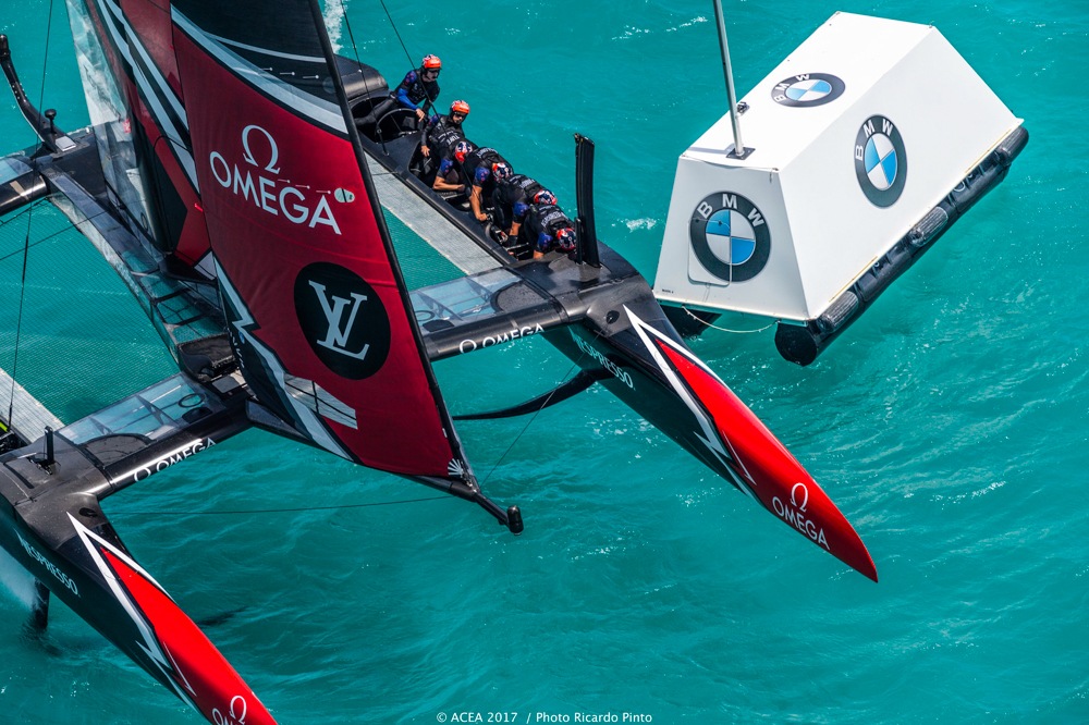 2017 America's Cup Team New Zealand