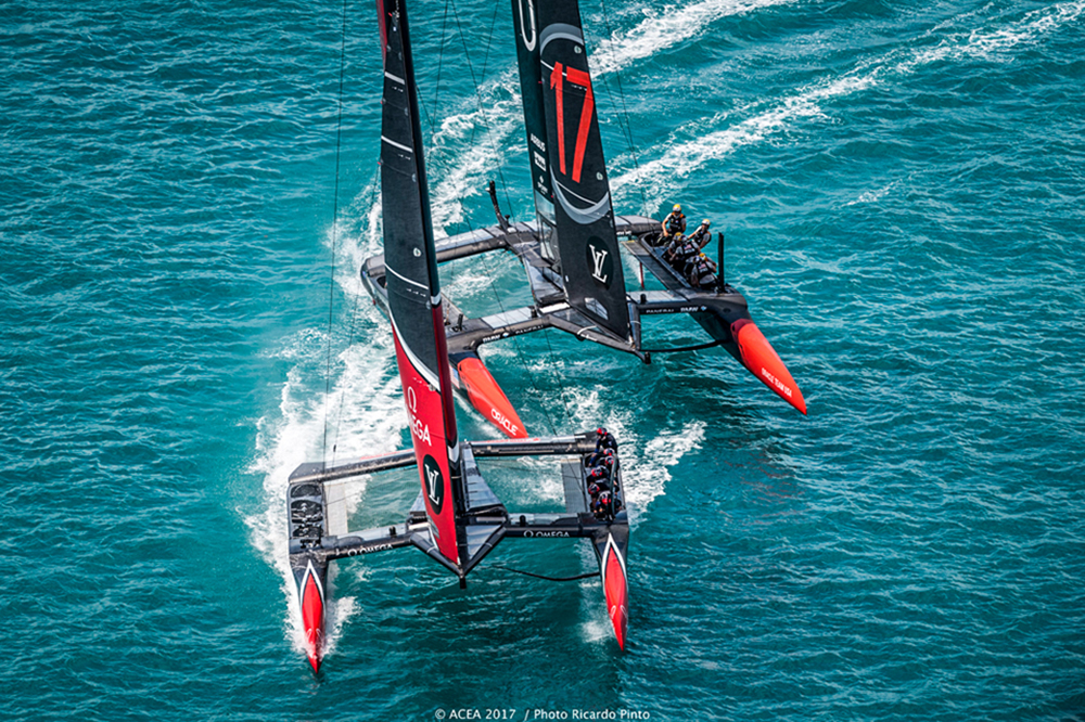 America's Cup 2017 Team New Zealand vs Oracle