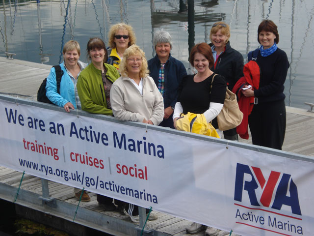 Largs kicks off Active Marina Programme