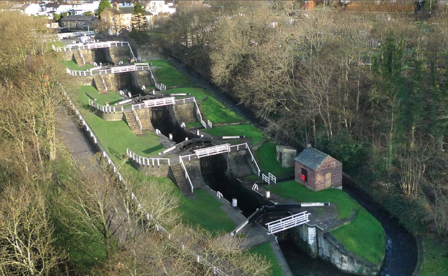Bingley Five Rise: UK canal holiday destinations