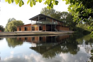 Bold new boathouse for Bryanston School