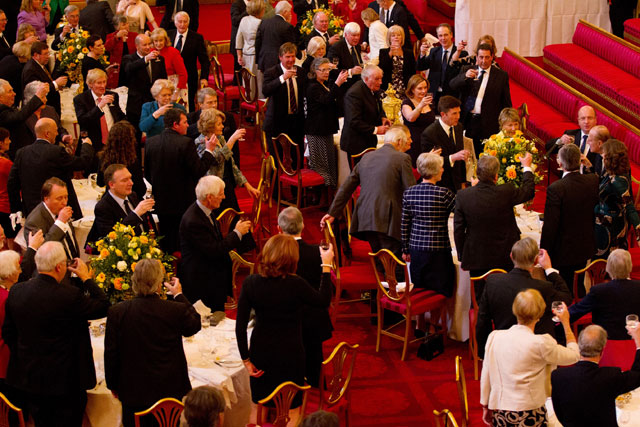 Buckingham Palace lunch for Royal Southern Yacht Club