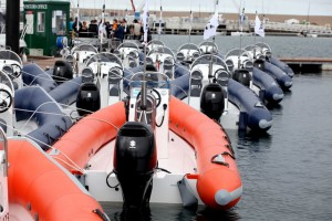 The RIB fleet for the Olympic Games