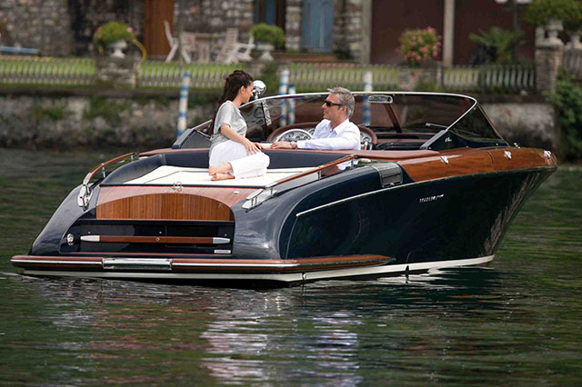 Boating babe magnet: the Riva Aquariva.